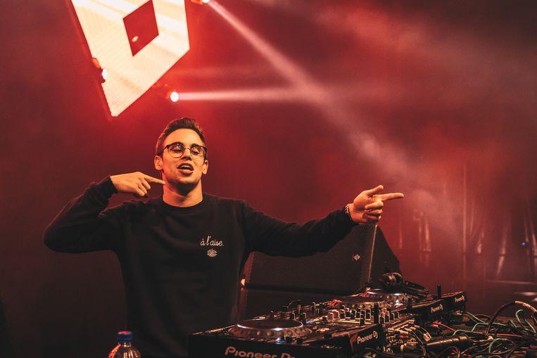DJ Merlo uit Waarschoot is weer van de partij.