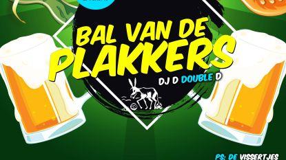 Tweede editie Bal van De Plakkers in feestzaal 't Verzet