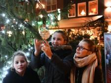 Kerstgedachten kunnen in Tiel de boom in
