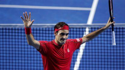 Federer gaat voor tiende eindzege in Bazel - Goffin komende week in tweede ronde op ATP Parijs tegen Dimitrov of Humbert