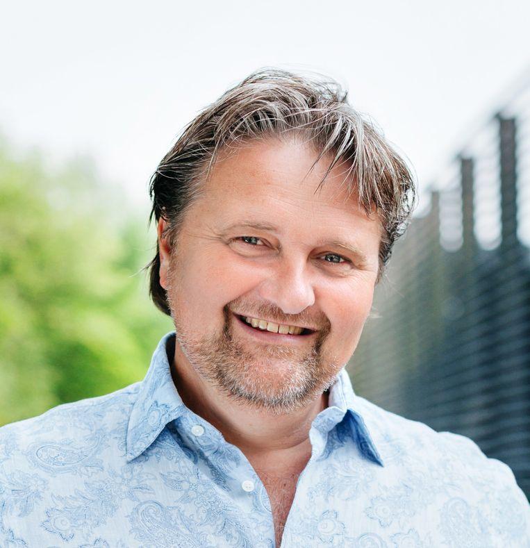 Ruud Koornstra, een van de schrijvers van het boek Slim en Groen. Beeld TR BEELD