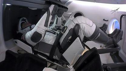 Astronauten SpaceX keren terug van ISS met zeldzame 'splashdown'-landing