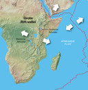 ,,Mijn eigen jeugd heeft zich voor een groot deel afgespeeld in Nairobi, Kenia, nabij de Riftvallei.''