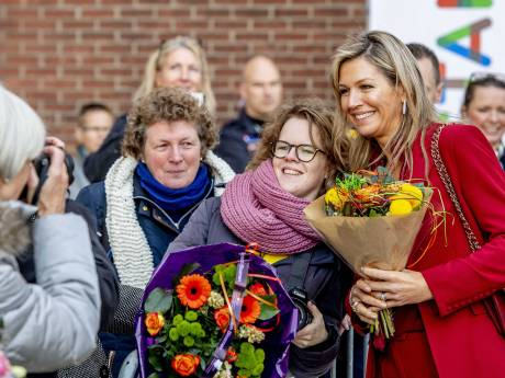 Koningin Máxima bezoekt Werkspoorkathedraal in Utrecht