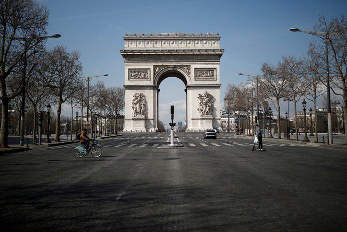 De Arc de Triomphe, hier op archiefbeeld.
