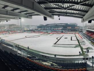 LIVE (16u15). Sneeuwtapijt in Oostende, voorlopig gaat West-Vlaams duel tegen KV Kortrijk gewoon door