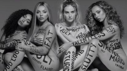 """Meidengroep Little Mix scoort met vrouwvriendelijke clip: """"Heb je kleine borsten, houd ervan"""""""