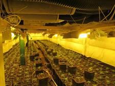 Vier drugspanden gesloten in Oosterhout, meer op komst