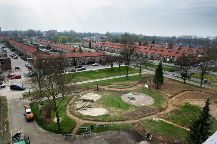 Malburgen gezien vanaf het Bruishuis.