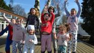 Leerlingen en leerkrachten van Daltonschool In 't Groen lopen 100 kilometer in pyjama