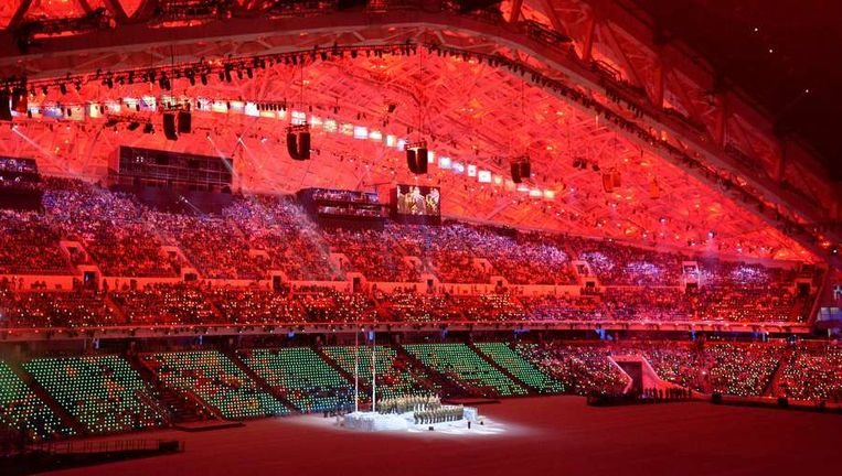 Het Olympisch Stadion Fisjt. Beeld afp