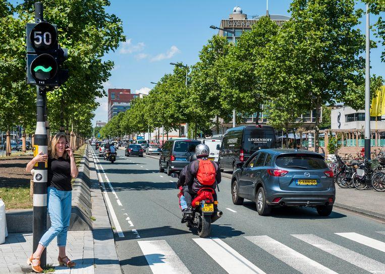 De Wibautstraat. Beeld Hollandse Hoogte / Michiel Wijnbergh Fotografie