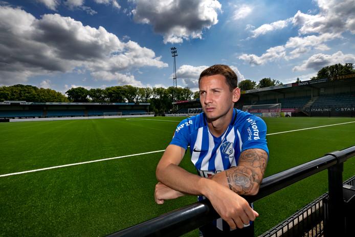 Joey Sleegers keerde deze zomer terug bij FC Eindhoven en kan vrijdag tegen FC Dordrecht zijn officiële rentree maken.
