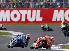 Rins klopt Márquez op de streep op Silverstone