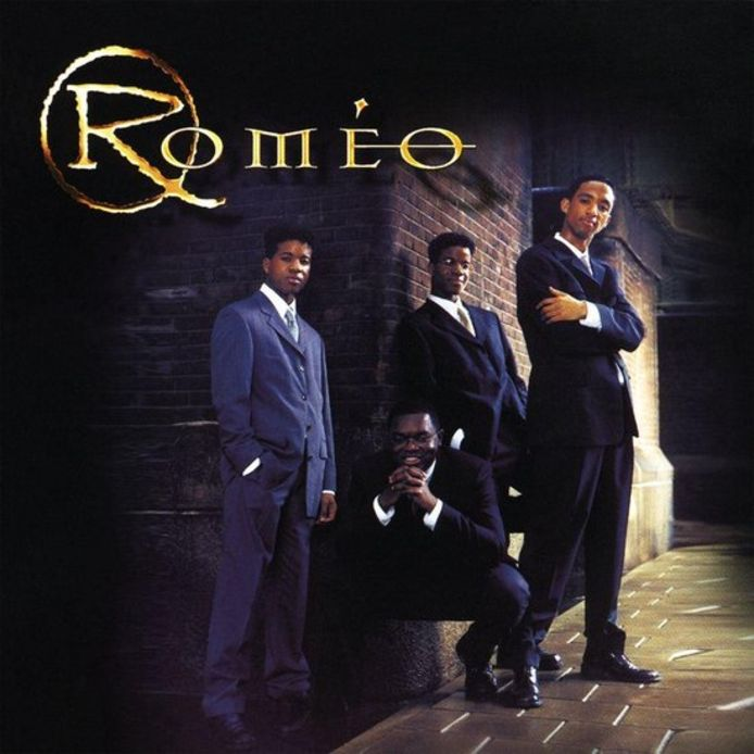 Julian, Spencer, Milton en Clifton (onderin) vormden Roméo.