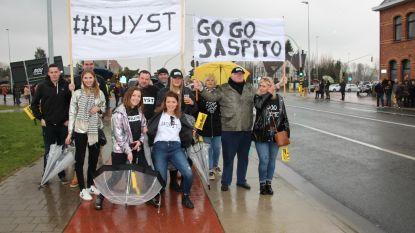 Familie en vrienden op eerste rij voor Jasper De Buyst