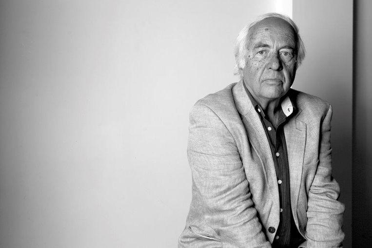 Wim Hazeu, biograaf van Lucebert. Beeld WimHazeu