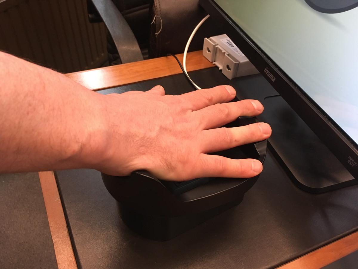 De handpalmscan: eenvoudig en betrouwbaar