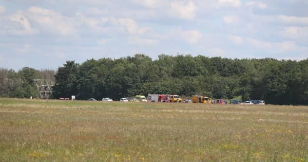 Piloot verongelukt bij neerstorten van zweefvliegtuig op Vliegbasis Gilze-Rijen.