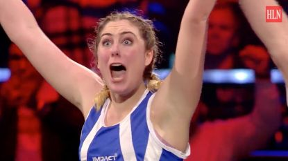 """""""Mijn neus is nog wat gevoelig"""": Marie Verhulst en Kamal Kharmach winnen eerste 'Boxing Stars'"""