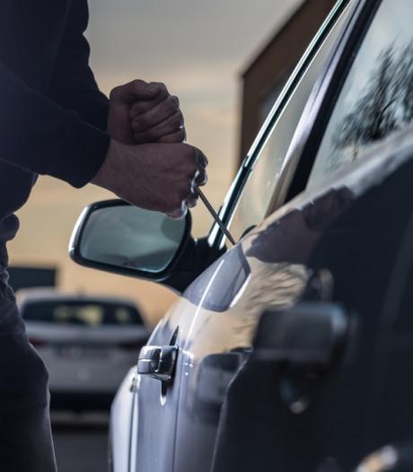 Vrijwel overal daalde het aantal auto-inbraken, maar in Gorinchem nam het juist toe