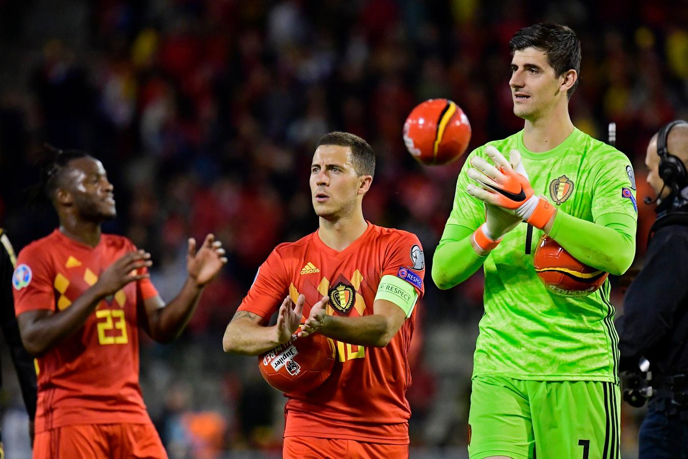 Thibaut Courtois, impatient d'accueillir Eden Hazard au Real.