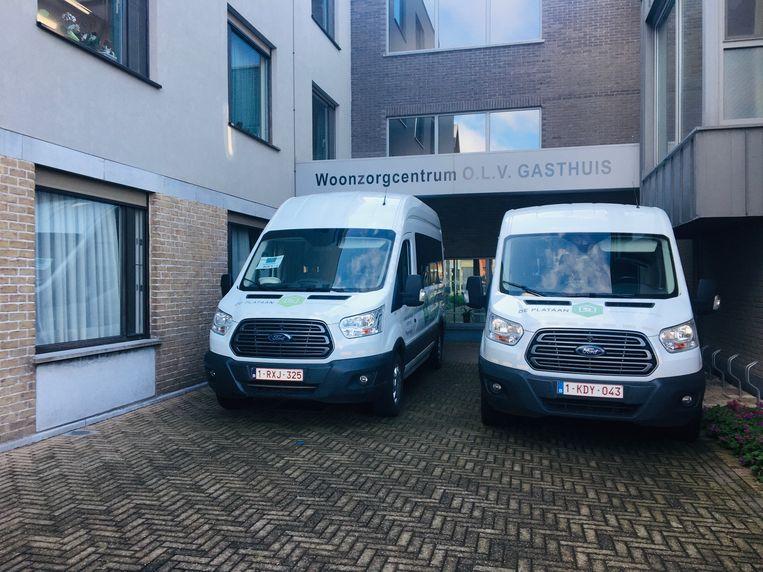 Babbelbus in WZC OLV Gasthuis en Emmaüs.
