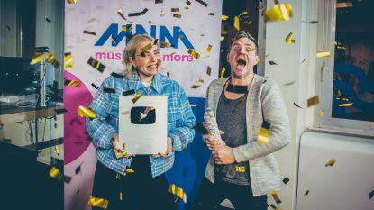 Meer dan 100.000 abonnees: MNM krijgt de Silver Creator Award van YouTube
