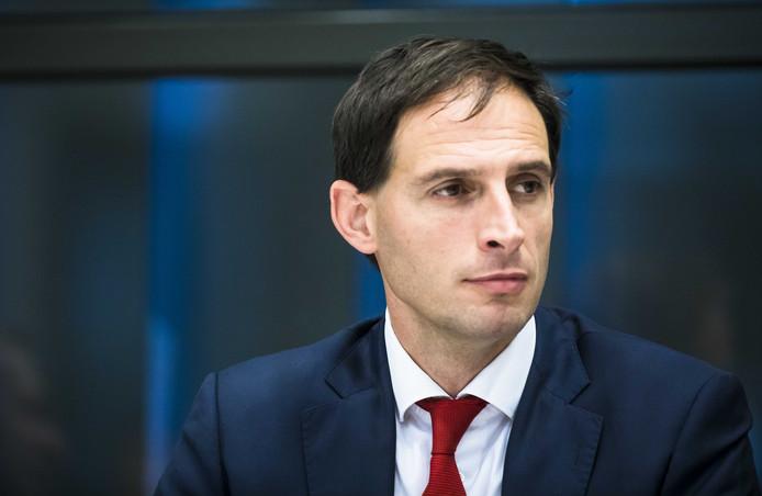 Minister Wopke Hoekstra van Financien (CDA).