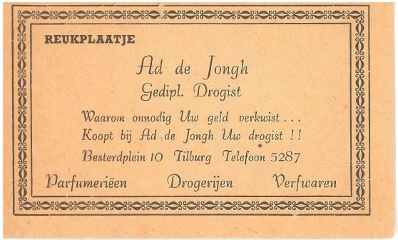 Drogisterij De Jongh kent een rijke geschiedenis.