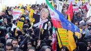 Tienduizenden Iraniërs protesteren tegen economische sancties VS