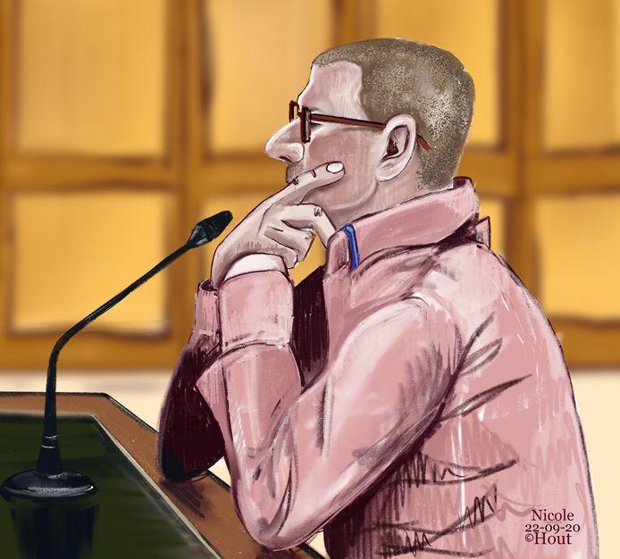 Thei R., in de rechtbank dinsdag.