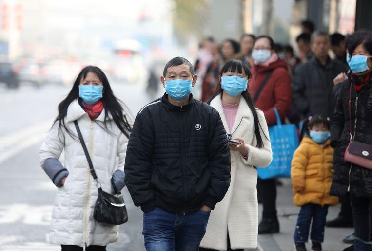 In China is iedereen alert.  Beeld EPA