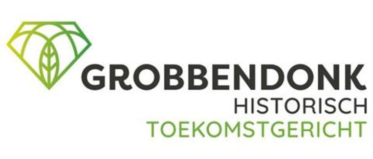 Het nieuwe logo van Grobbendonk zal op de herbruikbare flessen te zien zijn.