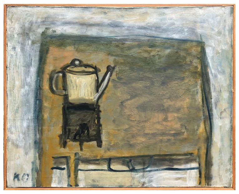 Eerste tafel (met koffiekan), 1959. Beeld Julius Wintermans