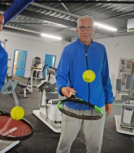 Tennisgoeroe Luttikhuis runt nu ook Racket & Fit Center Borne: 'Was een makkelijke beslissing'