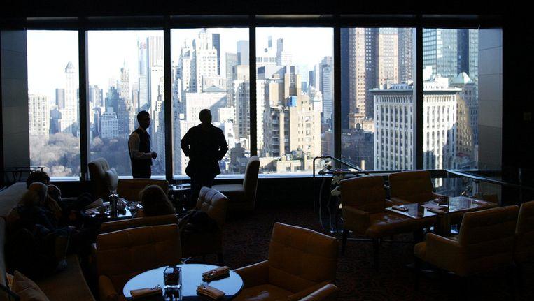Uitzicht vanuit het Mandarin Oriental hotel in New York. © ANP Beeld