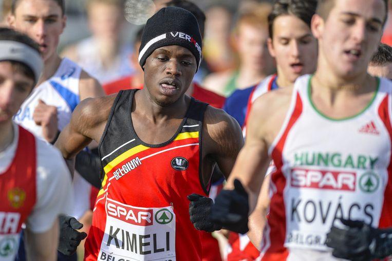 Junior Kimeli deed lang mee voor de titel.