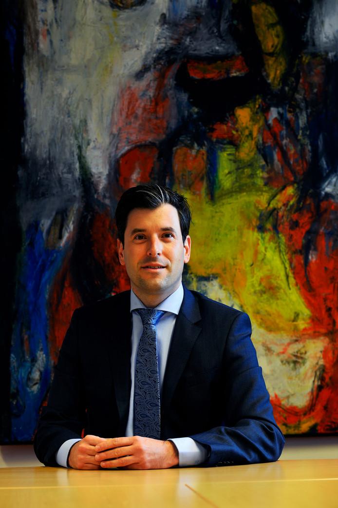 Burgemeester Joerie Minses van Alphen-Chaam.