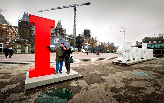 In 2010 werden enkele letters gestolen en op Marktplaats gezet