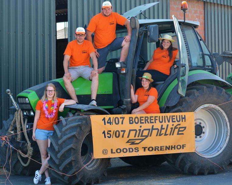 De organisatoren van de Boerefuiveuh en Nightlife kregen deze week een boete (inzet) van 600 euro in de bus.