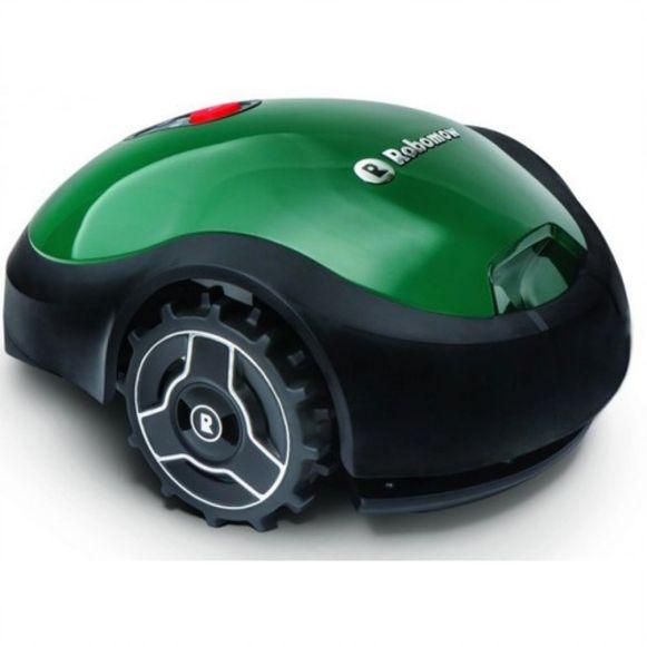 Je kunt, tot slot, ook al het werk uit handen geven aan een robotische grasmaaier.