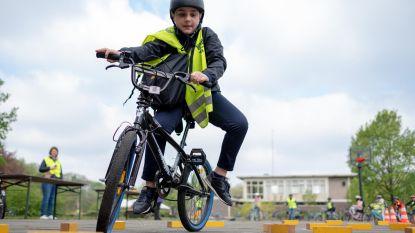 Laatste keer oefenen voor fietsexamen