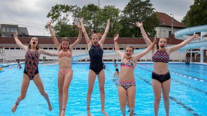 Succesvolle start voor openluchtzwembad