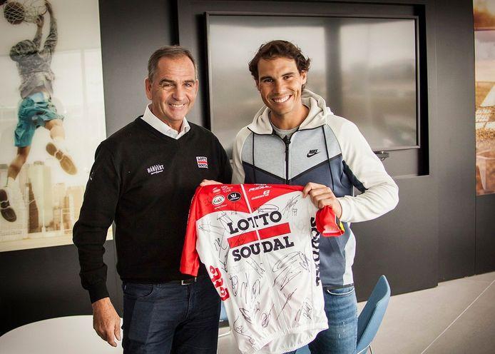 Lotto-Soudal bij Nadal
