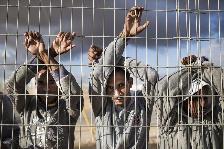 Asielzoekers in Israël. Beeld getty