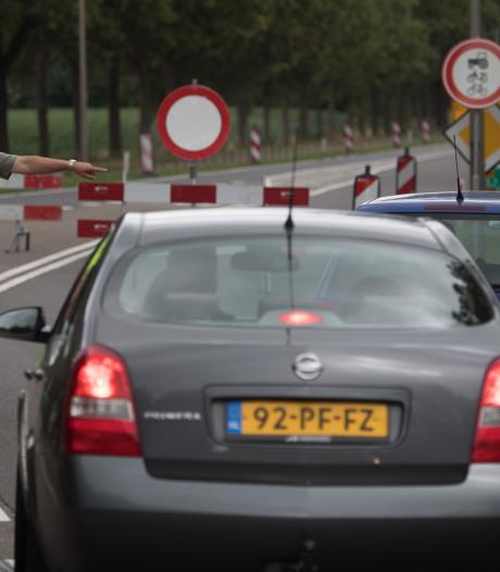Verkeerschaos op N35 blijft uit na afsluiting weg tussen Mariënheem en Nijverdal