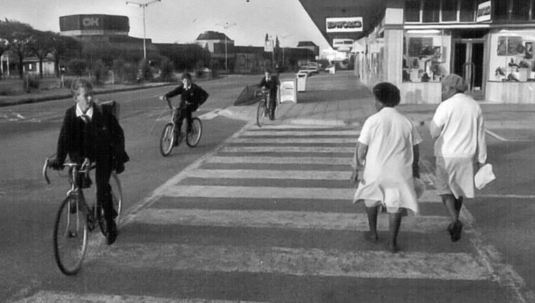 De apartheid in beeld. Welkom, 1990 Beeld Ad van Denderen