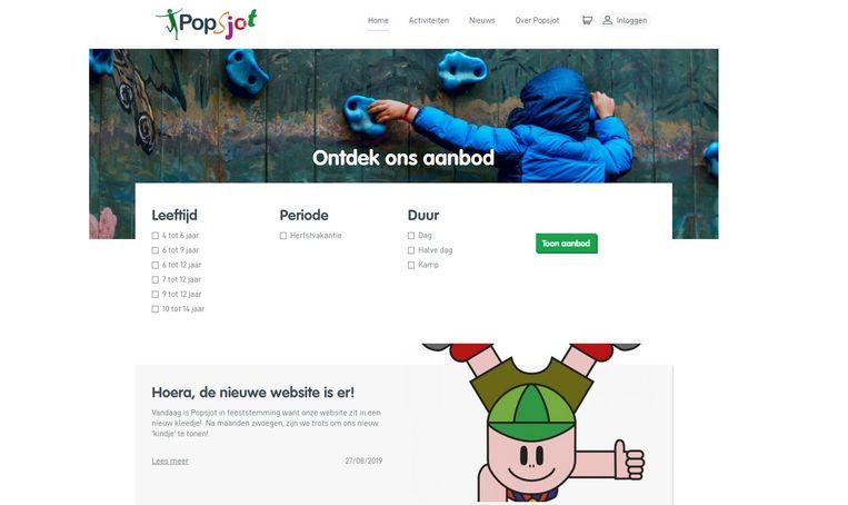 Nieuwe website Popsjot