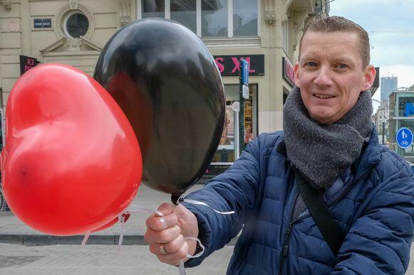 Koen Ryssaert (46) uit Mortsel wacht op een hartdonor.